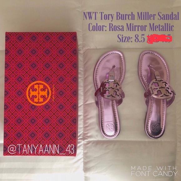 cae077fc6f84c5 NWT Tory Burch Miller Sandal
